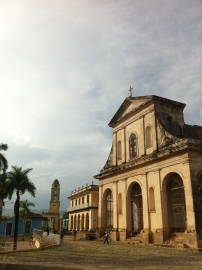 The main square in Trinidad, on the southern coast of Cuba. Also my favorite town we visited. Photo credit: Tazi Phillips